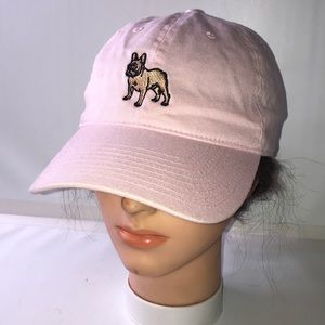 Dog Limited Pink French Bulldog Baseball Hat Cap